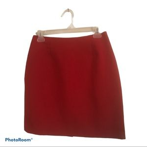 VTG Beechers Brook Petites red mini skirt